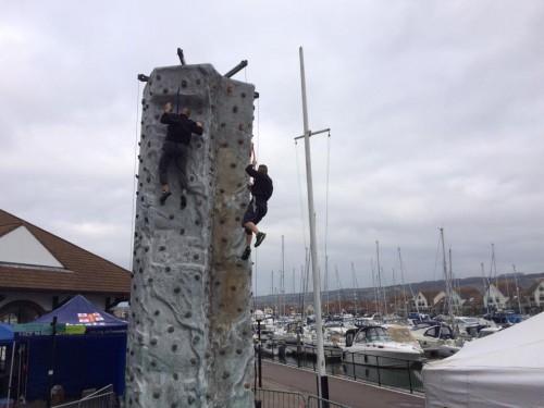 Mobile Rock Climbing Wall