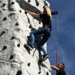 Climbing Wall Little Monsters Event Hire England